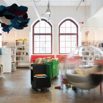 Bibliotek Sundbyberg 345x345