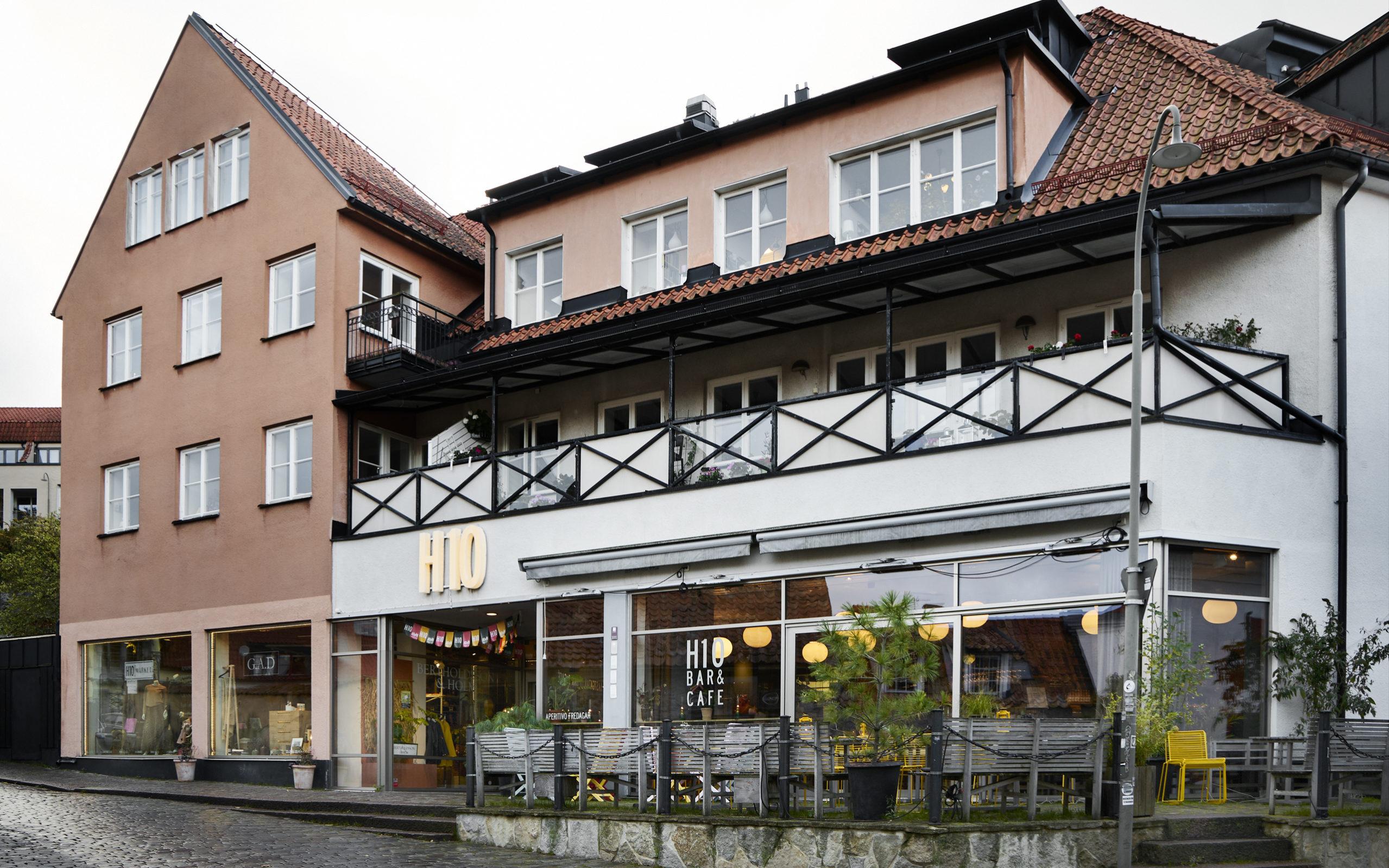 Bild på h10 i Visby